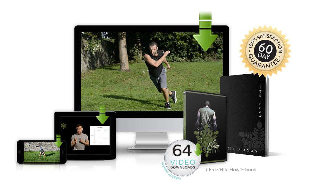 elite flow package, elite flow, flow elite, professional athletes, flow videos, exercise videos, flow state